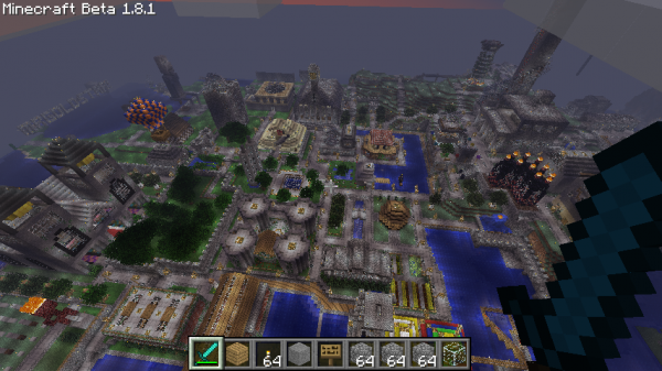 total view of spawn!