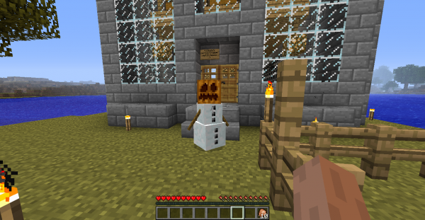 welcome our first golem named 'smeagal' please greet him warmly (not too much though he melts)